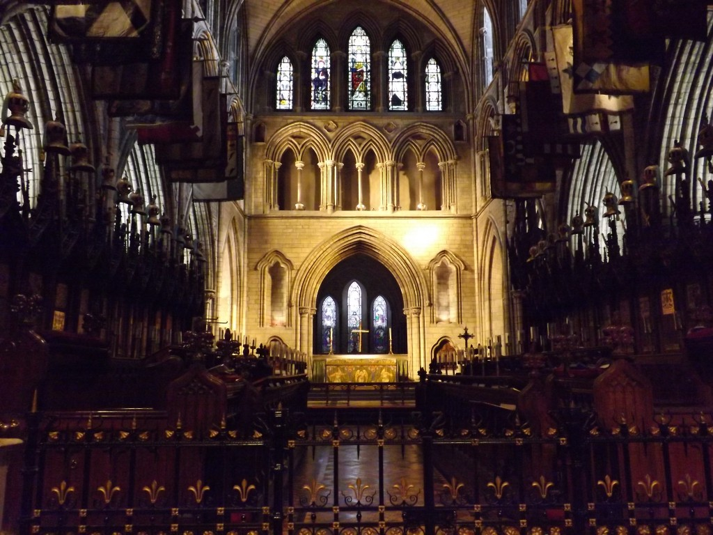 We went to St. Patrick's Cathedral one day, and it was absolutely gorgeous inside.